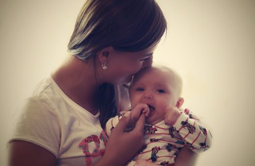 au pair with baby